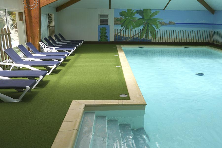 Camping vend e avec piscine couverte chauff e et parc - Camping roscoff avec piscine couverte ...