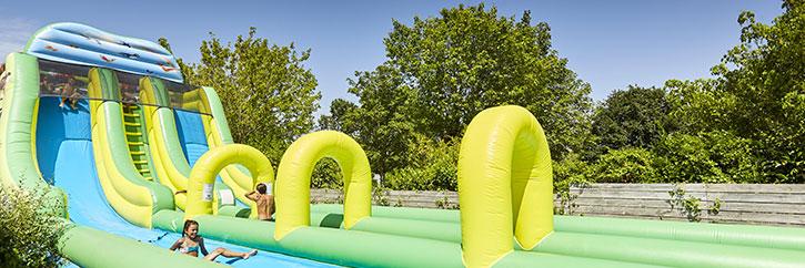 Camping vend e avec piscine couverte chauff e et parc - Camping la tremblade avec piscine ...
